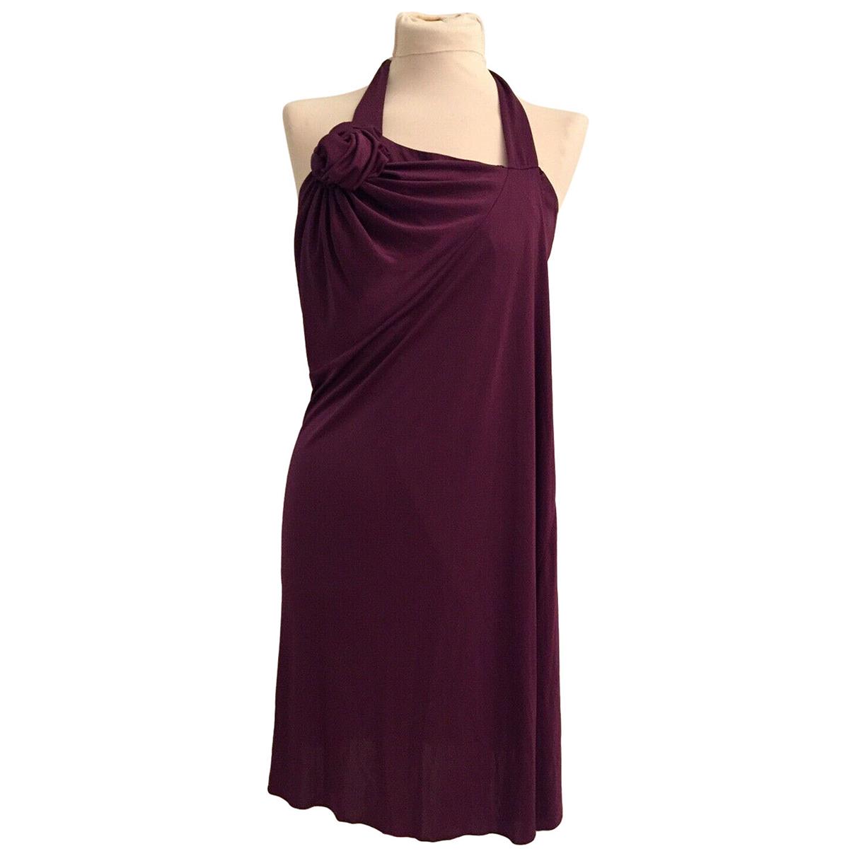 Yves Saint Laurent \N Purple dress for Women 38 FR