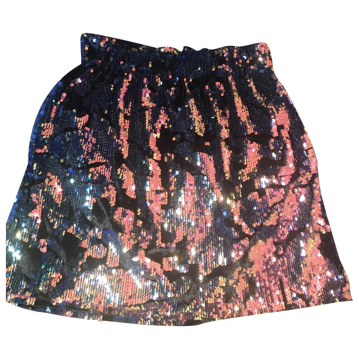 Zara \N Multicolour Velvet skirt for Women S International