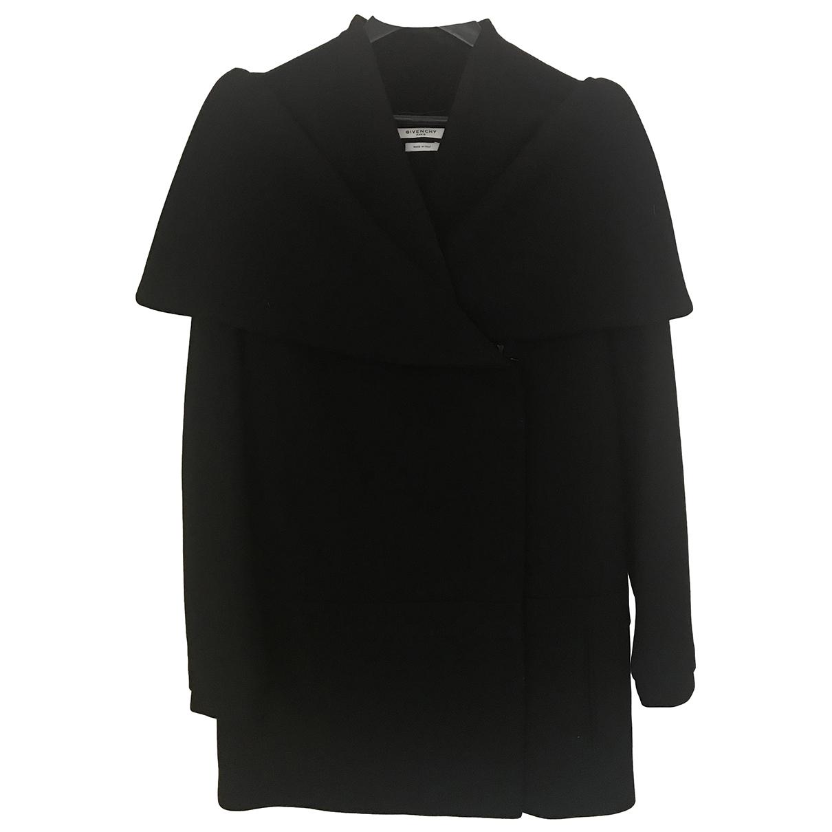 Givenchy - Manteau   pour femme en laine - noir