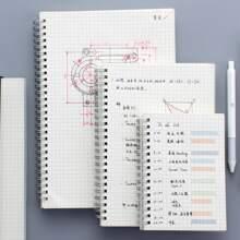 1pc Grid Spiral Notebook