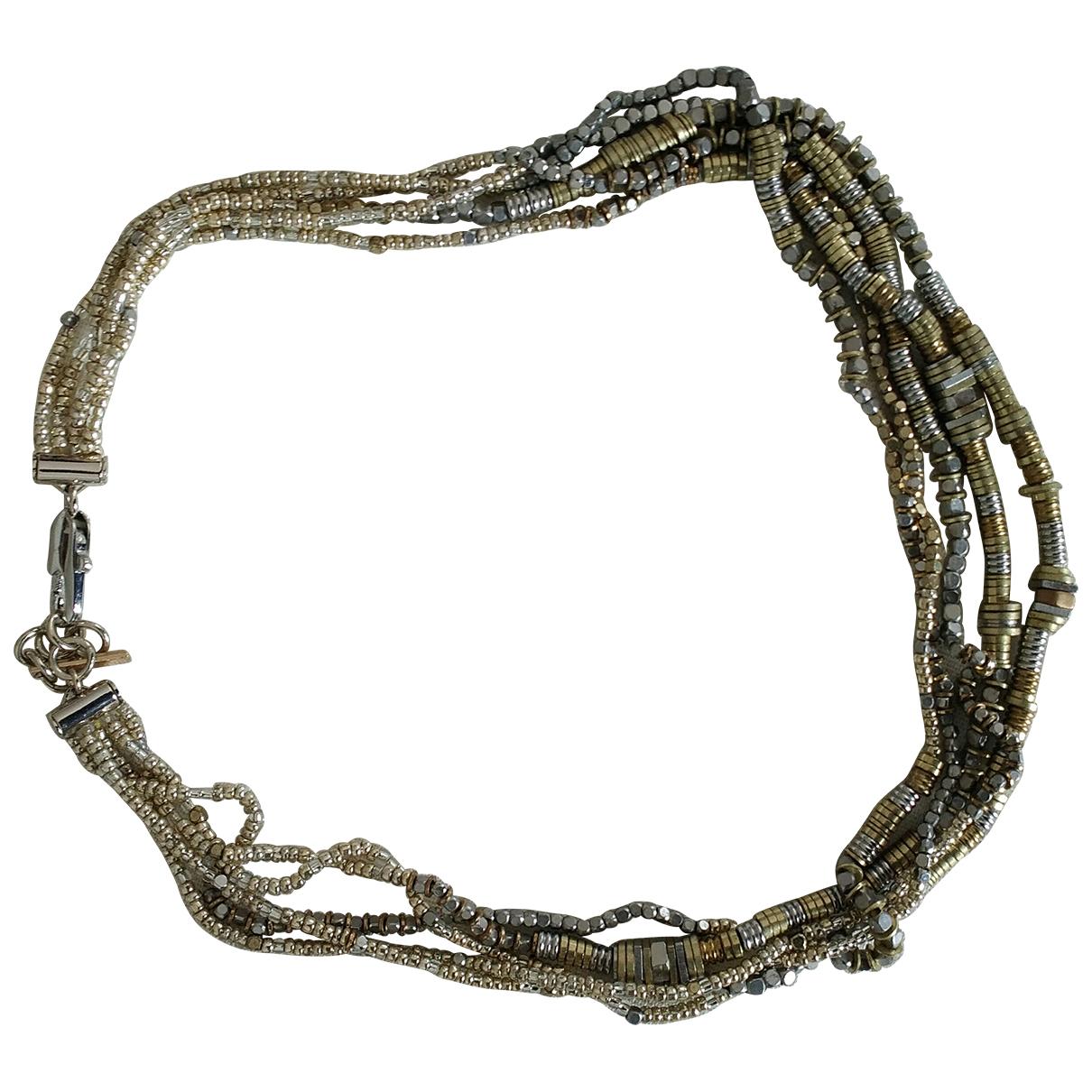 Maje - Collier   pour femme en metal - argente