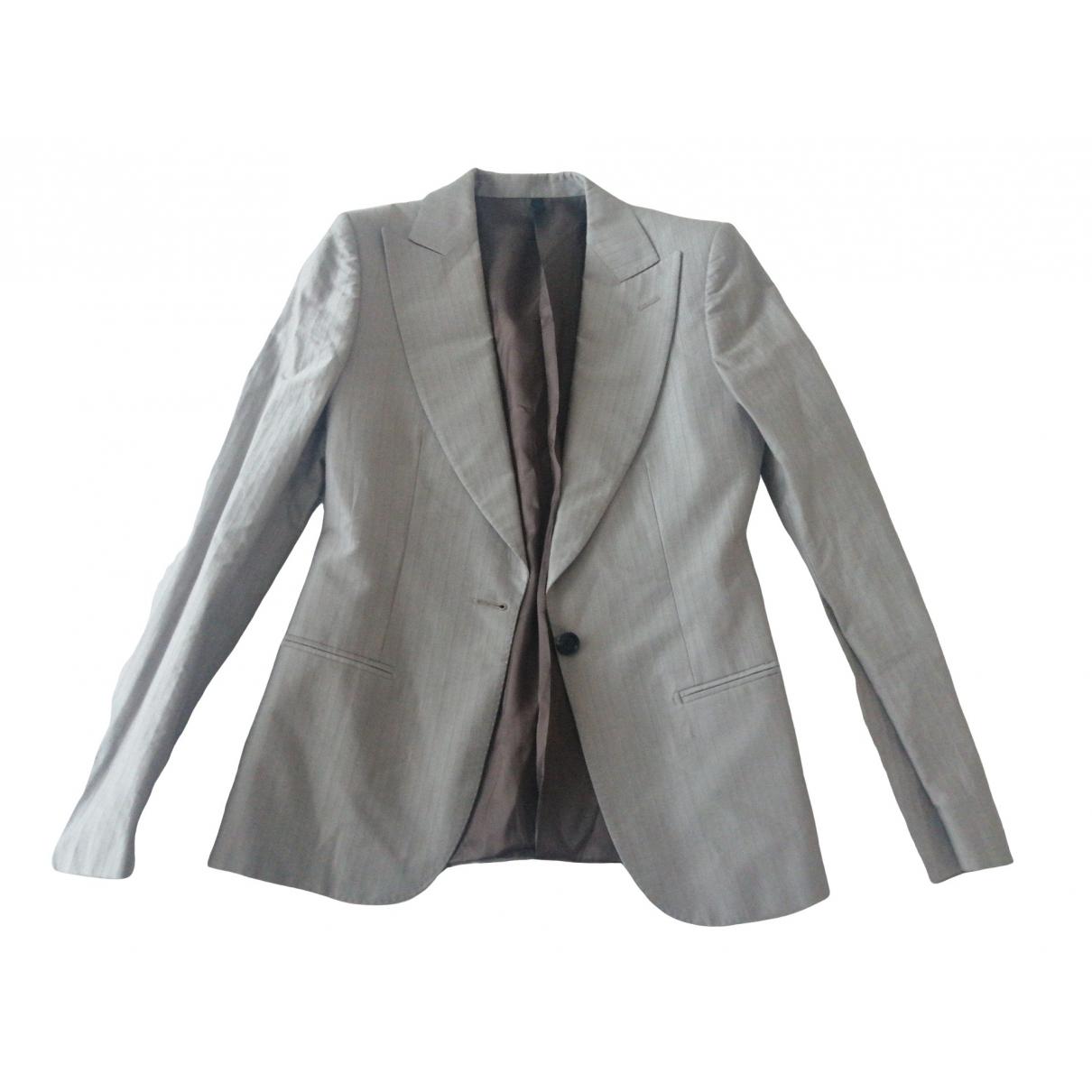 Tonello - Veste   pour femme en coton - ecru