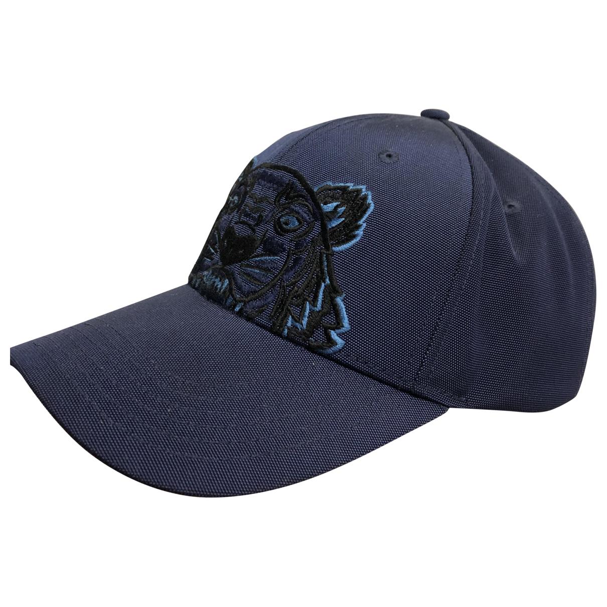 Kenzo - Chapeau & Bonnets   pour homme - marine