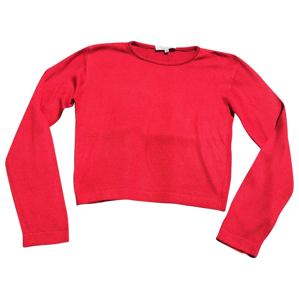 Yves Saint Laurent \N Red Silk Knitwear for Women 38 FR