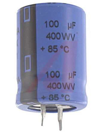 Cornell-Dubilier 8200?F Electrolytic Capacitor 63V dc, Through Hole - 380LX822M063A032