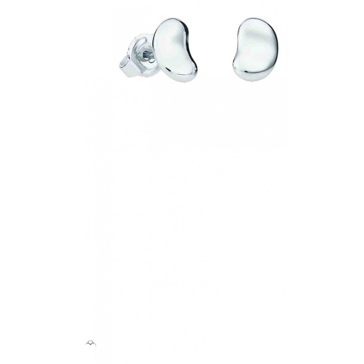Tiffany & Co - Boucles doreilles   pour femme en argent - argente