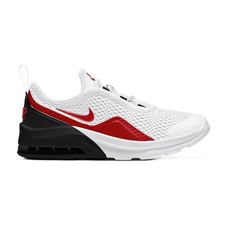 Nike Air Max Motion 2 Little Kids Boys Running Shoes, 13 Medium, White