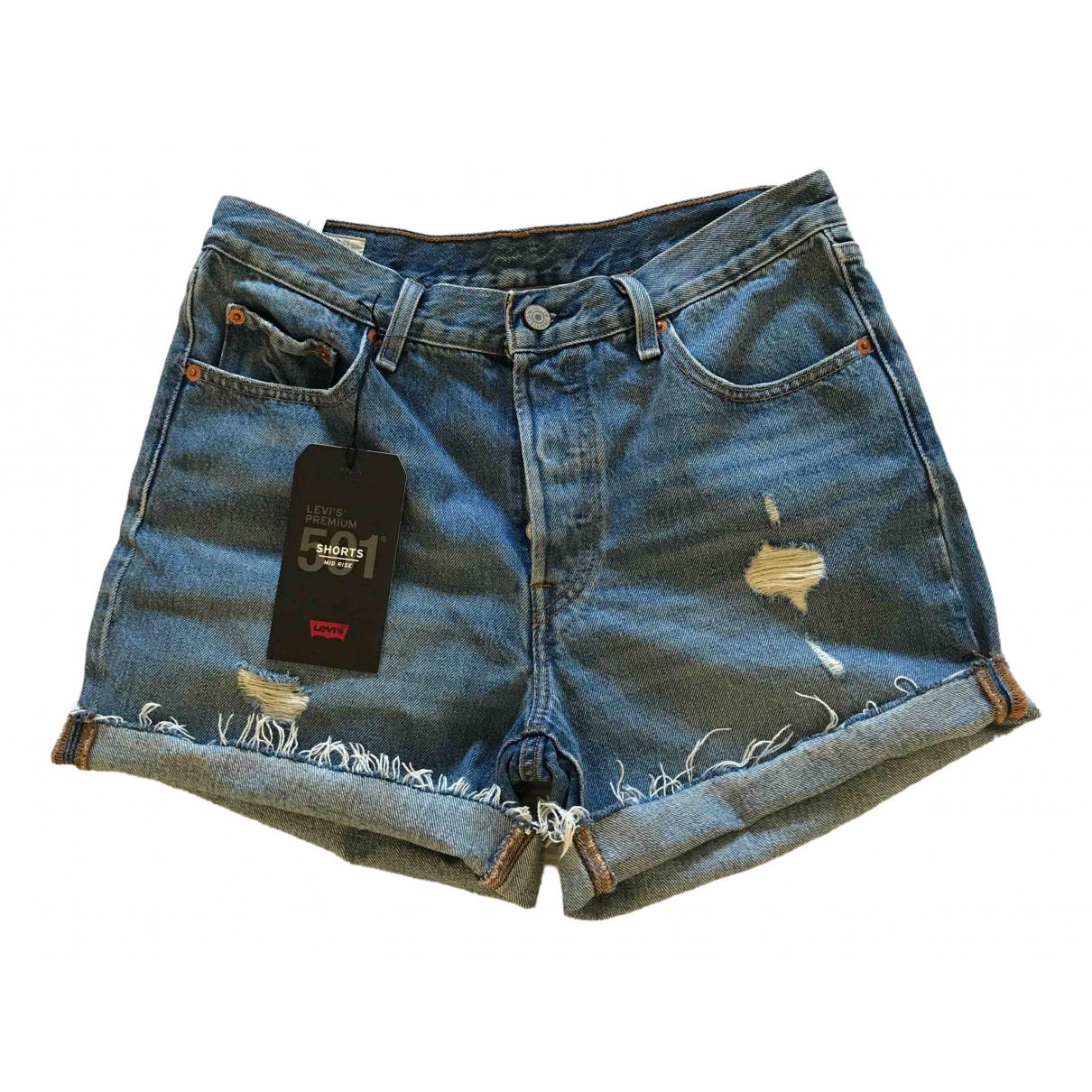 Levi's \N Blue Denim - Jeans Shorts for Women 44 IT