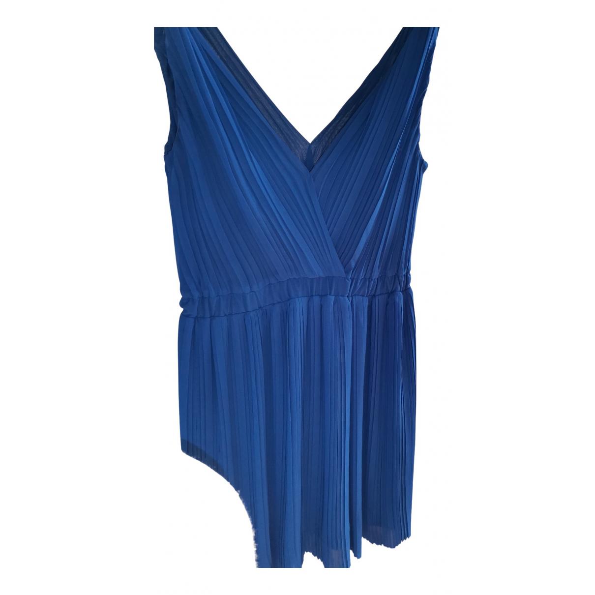 Mango \N Kleid in  Blau Synthetik