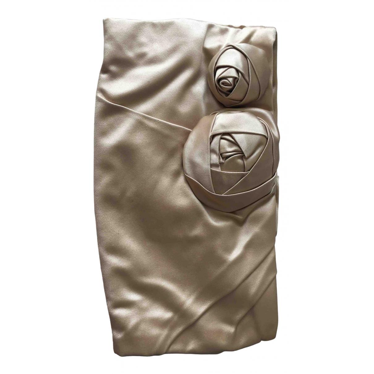 Prada \N Beige Silk Clutch bag for Women \N