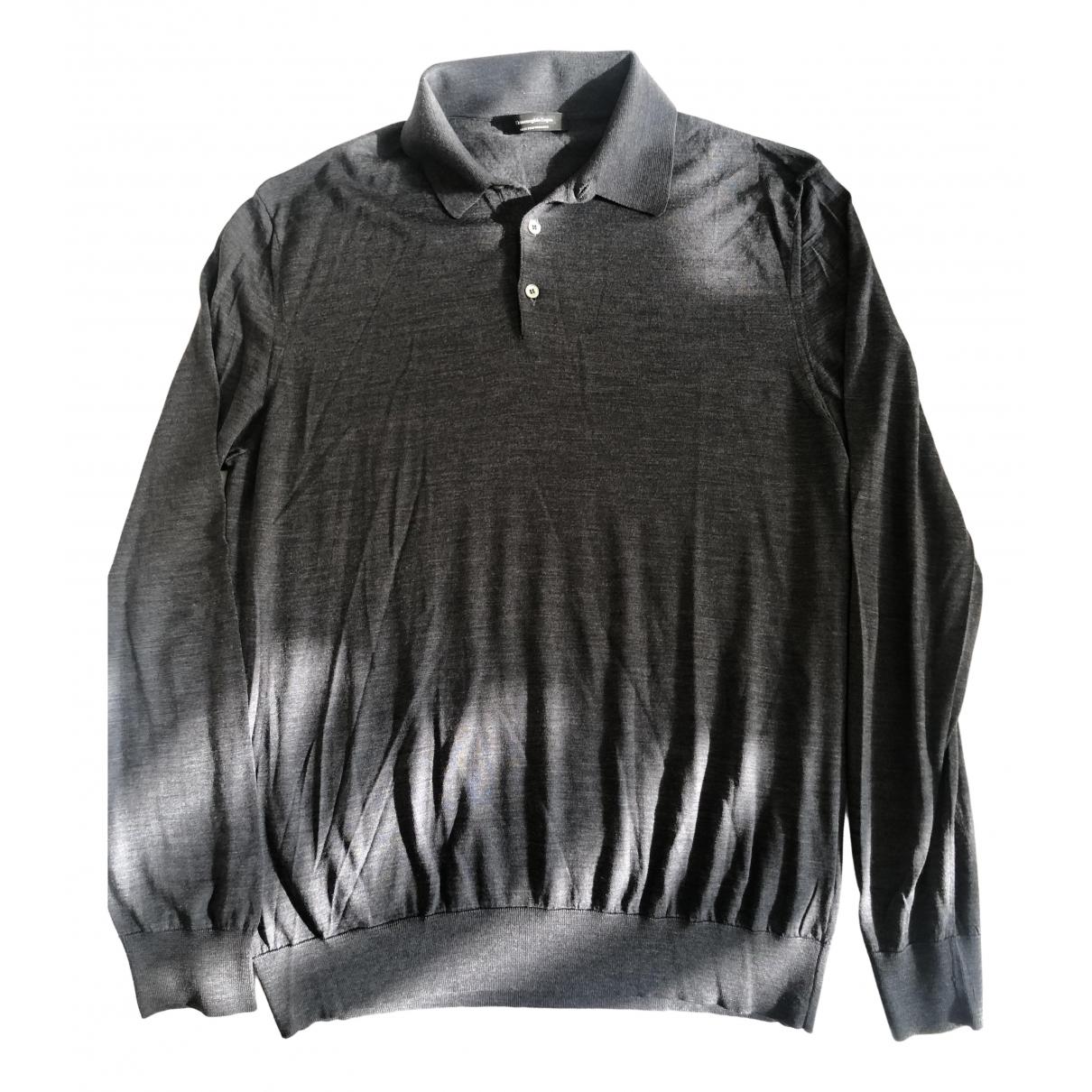 Ermenegildo Zegna - Pulls.Gilets.Sweats   pour homme en laine - gris