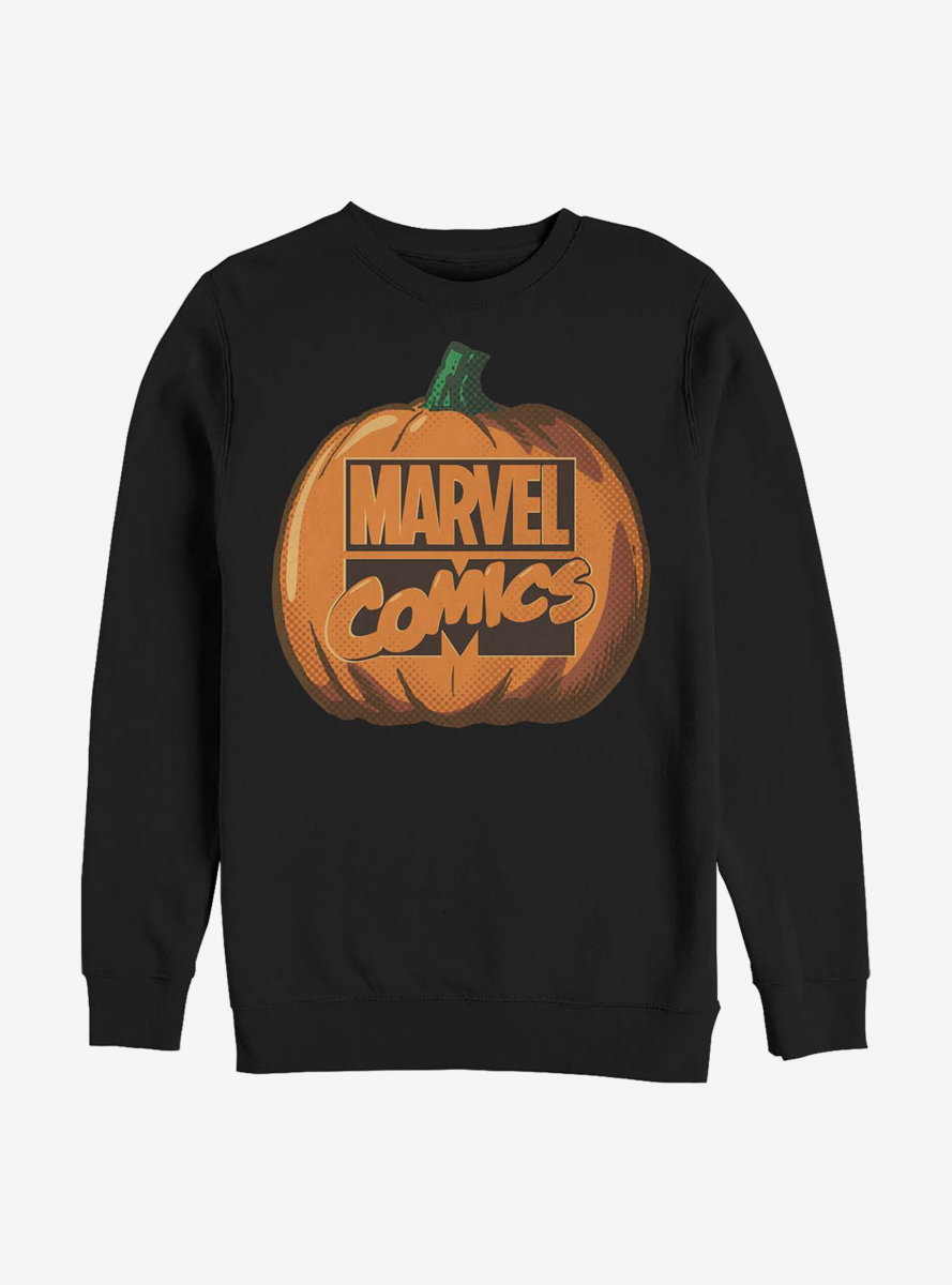 Marvel Logo Pumpkin Sweatshirt