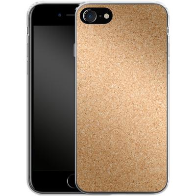 Apple iPhone 8 Silikon Handyhuelle - Cork von caseable Designs