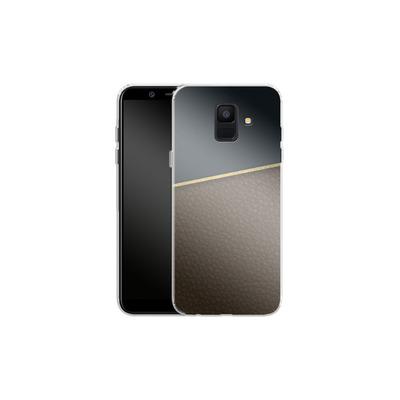 Samsung Galaxy A6 Silikon Handyhuelle - Oxford von caseable Designs