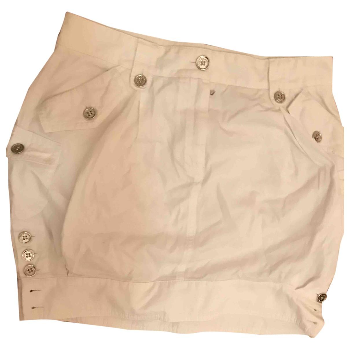 Dolce & Gabbana \N White Cotton skirt for Women 38 IT
