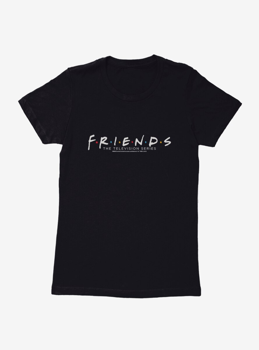 Friends Classic Logo Womens T-Shirt