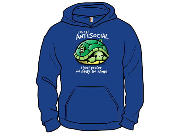 Antisocial Turtle T Shirt