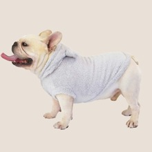 1pc Solid Dog Hoodie