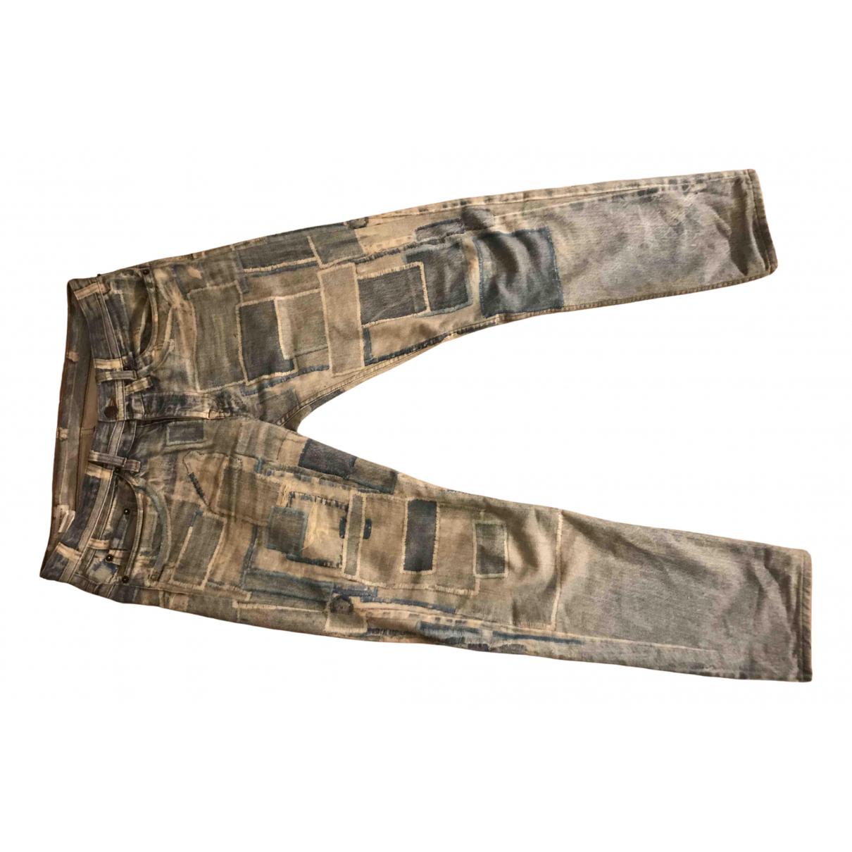 Dries Van Noten \N Multicolour Cotton Jeans for Men 31 US