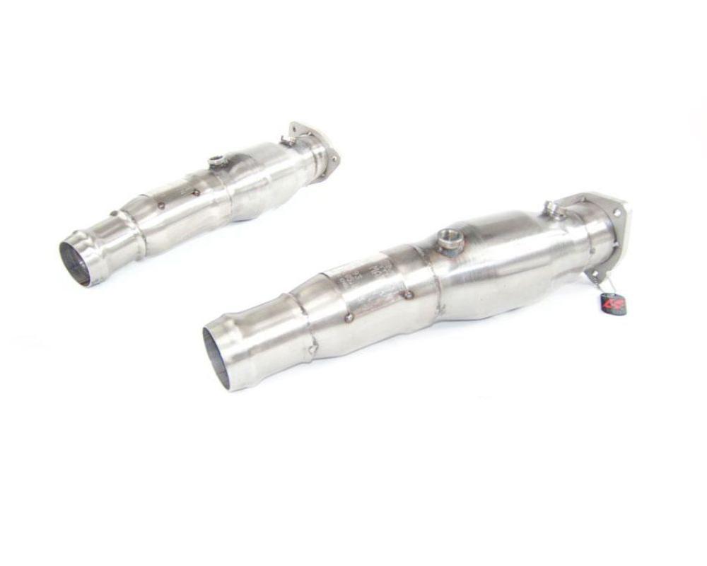 Quicksilver AS654S Race Pipes 200 cpsi Aston Martin V8 Vantage 05-11