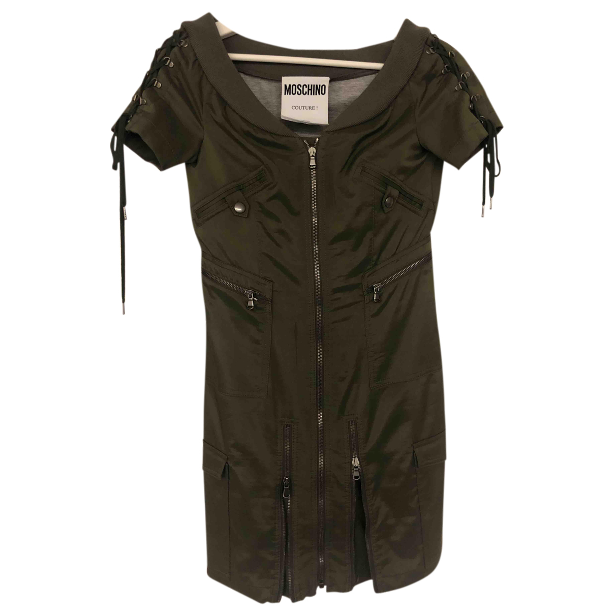Moschino N Khaki dress for Women M International