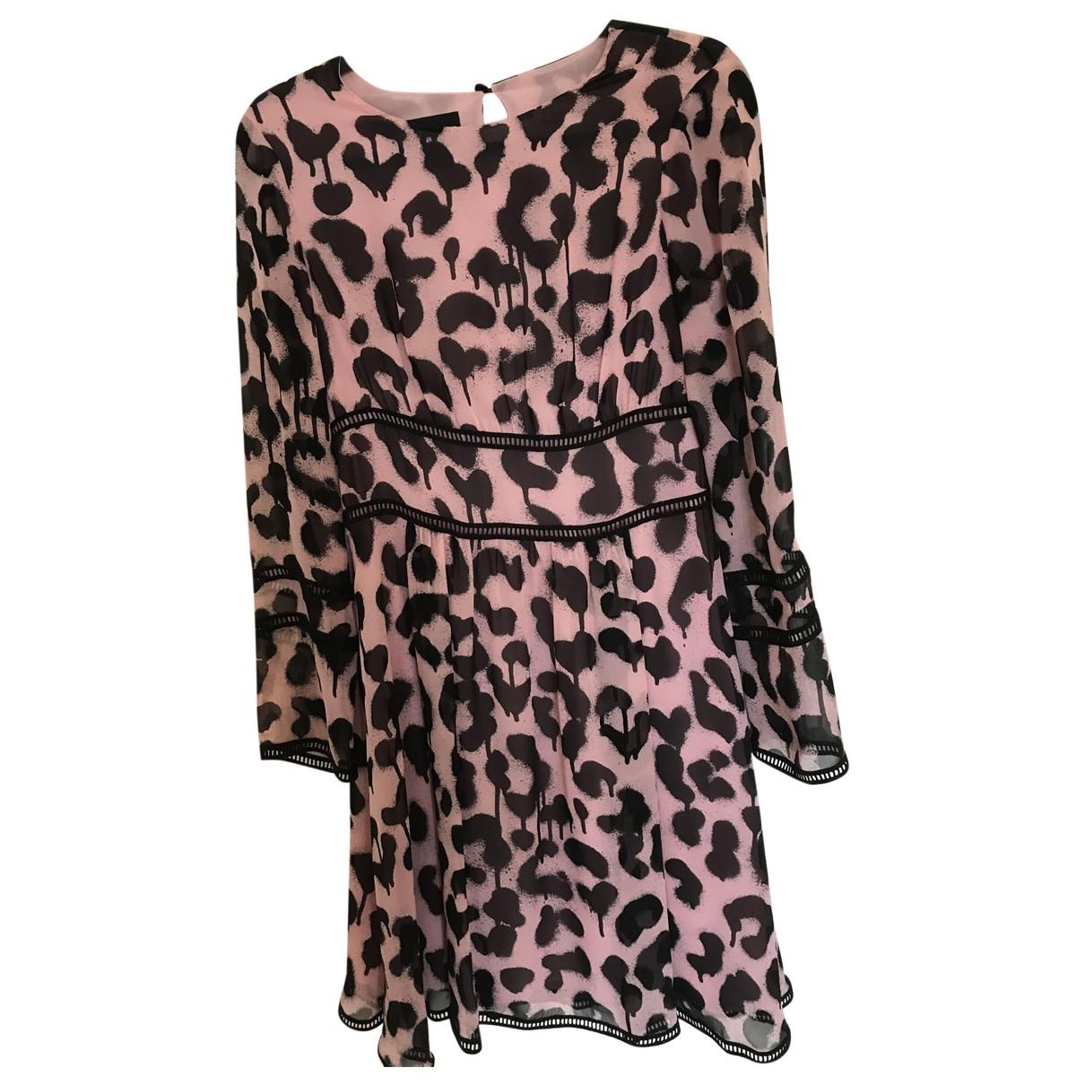 Moschino \N Kleid in  Rosa Mit Pailletten