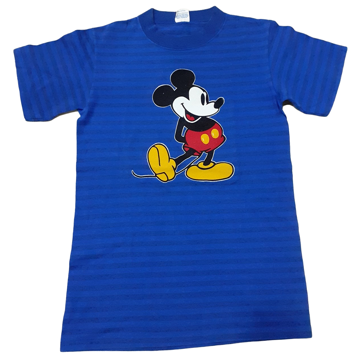 Non Signé / Unsigned \N Blue Cotton T-shirts for Men S International