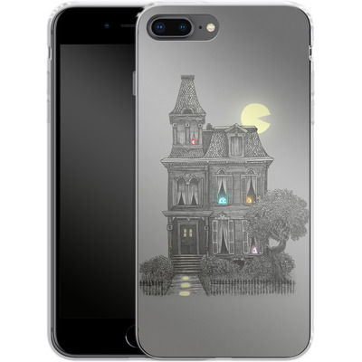 Apple iPhone 7 Plus Silikon Handyhuelle - Haunted By The 80s von Terry Fan