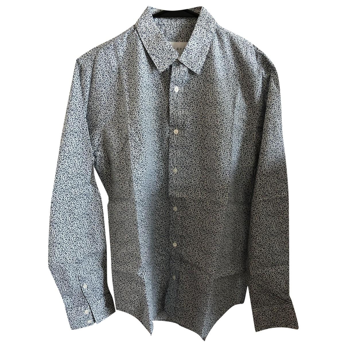 Sandro - Chemises   pour homme en coton - bleu