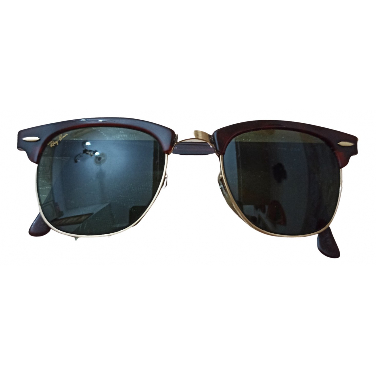 Ray-ban Clubmaster Brown Sunglasses for Women \N