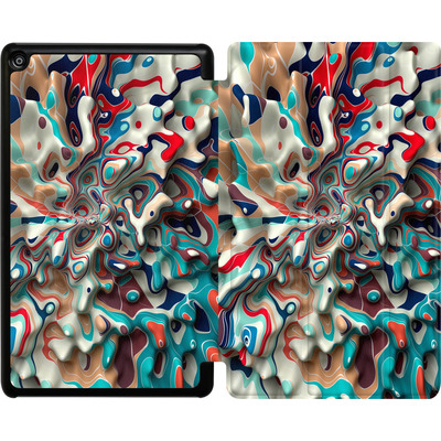 Amazon Fire HD 8 (2018) Tablet Smart Case - Weird Surface von Danny Ivan