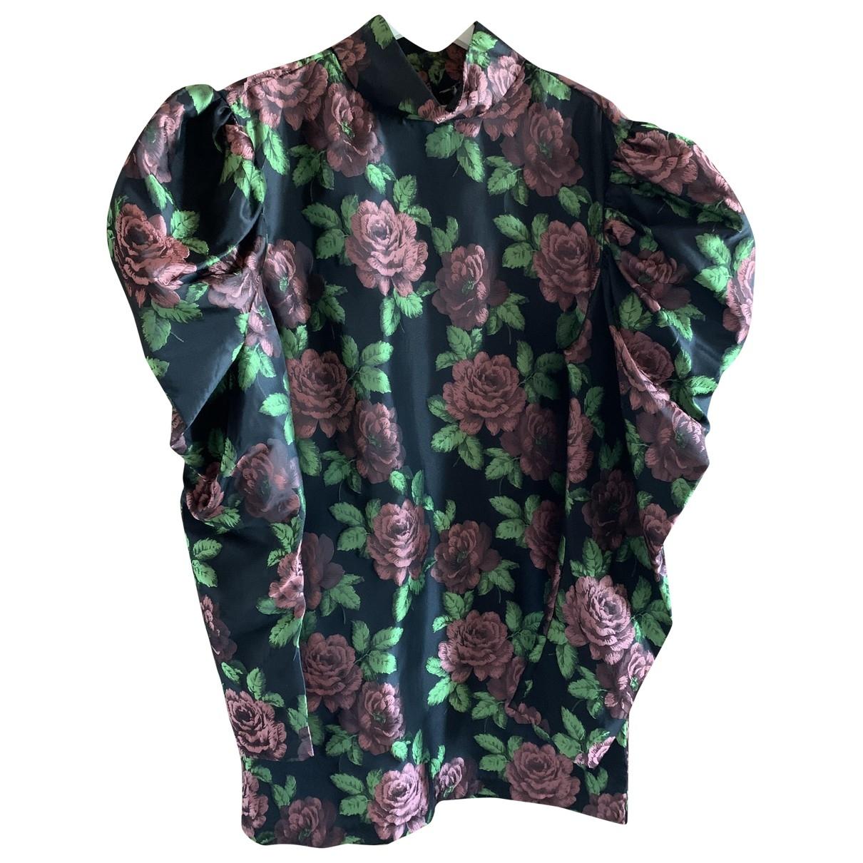 Weili Zheng \N Kleid in  Schwarz Polyester