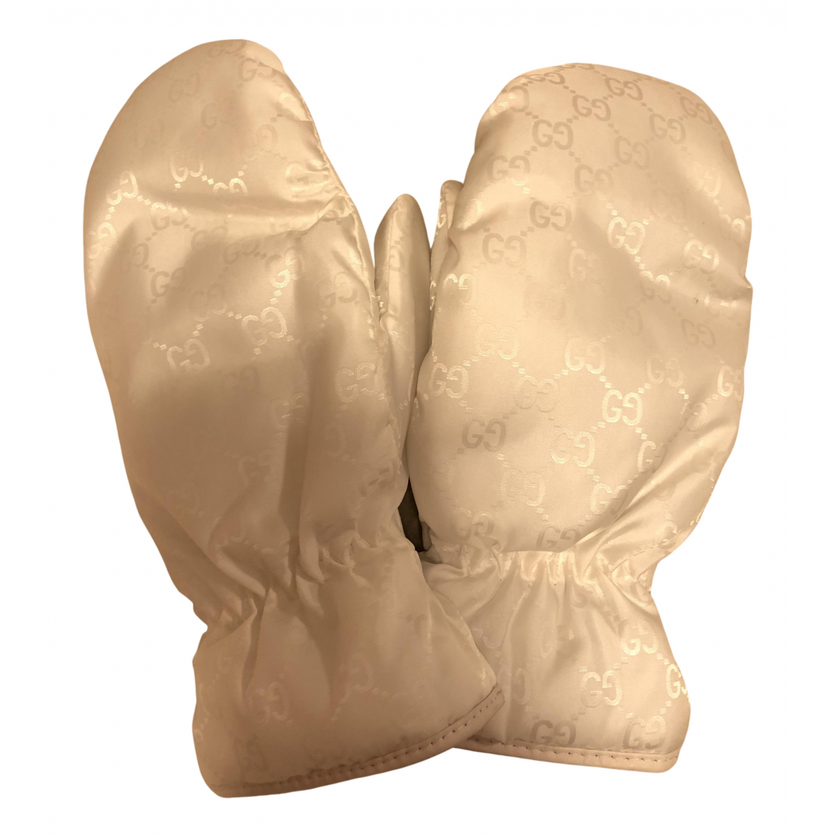 Gucci N White Gloves for Women 7 Inches