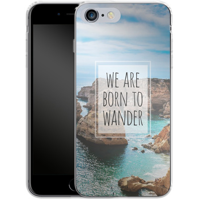 Apple iPhone 6s Plus Silikon Handyhuelle - Born to Wander von Joel Perroden