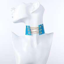 Halsband mit Kette Dekor