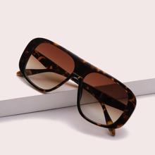 Flat Top Acrylic Sunglasses
