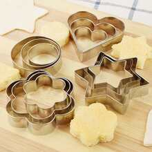 12pcs Stainless Steel Cake Mold