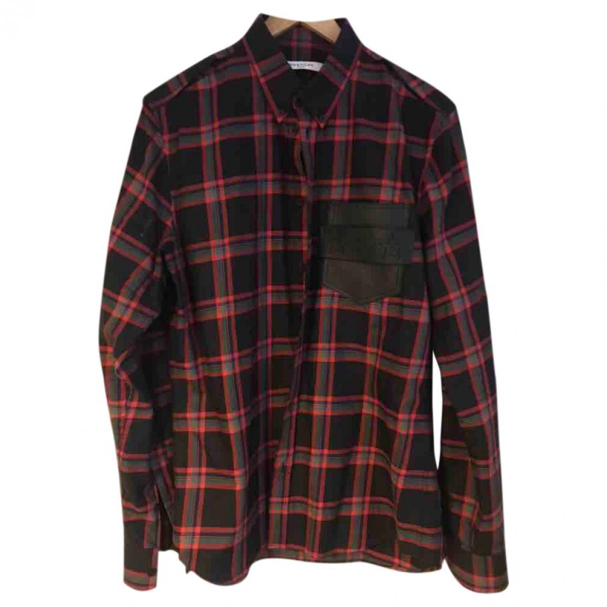 Givenchy \N Multicolour Cotton Shirts for Men 41 EU (tour de cou / collar)