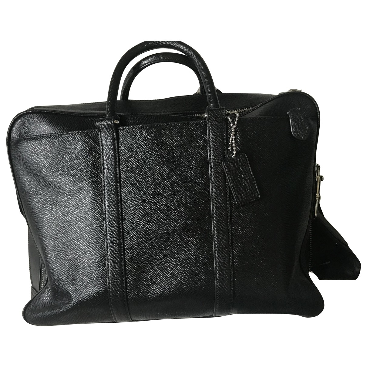 Coach \N Black Patent leather bag for Men \N