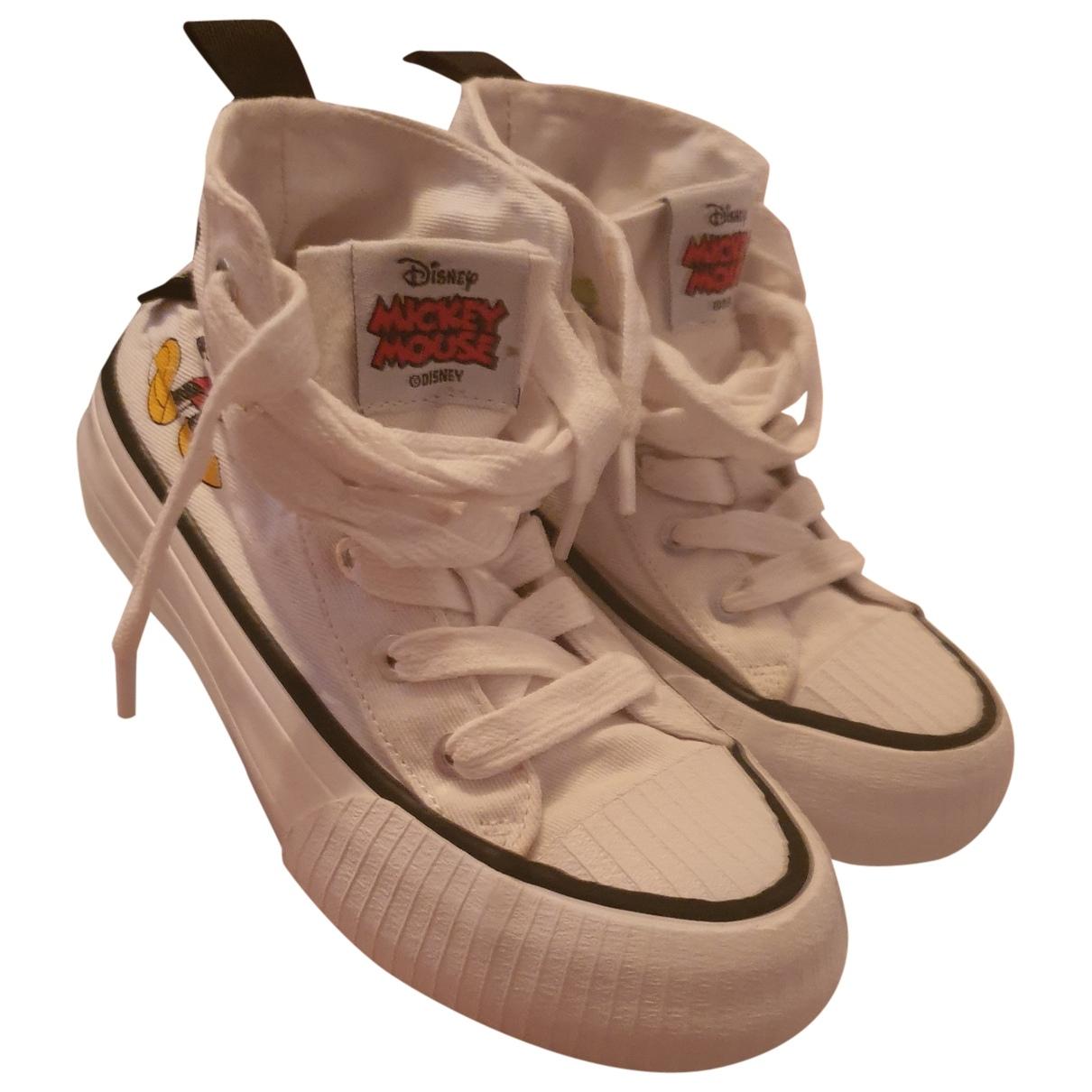 Zara - Baskets   pour enfant en toile - blanc