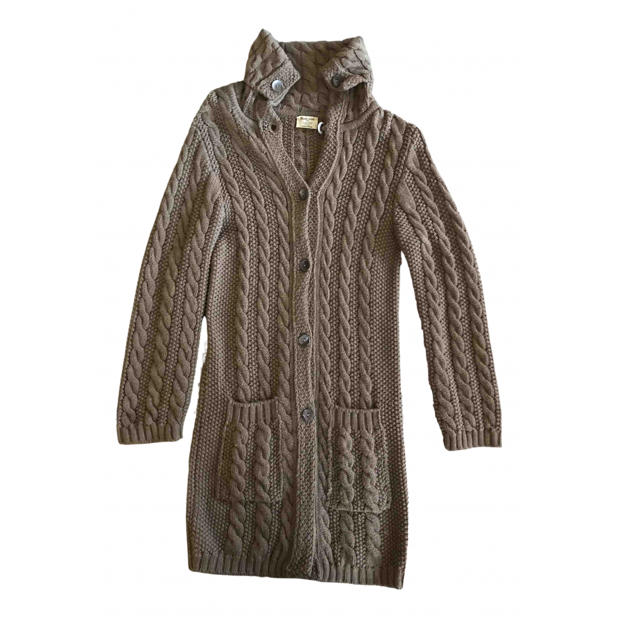 Non Signé / Unsigned \N Brown Wool Knitwear for Women M International