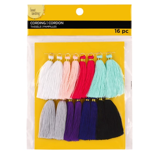 Multiple Thread Tassels By Bead Landing™ | Michaels®