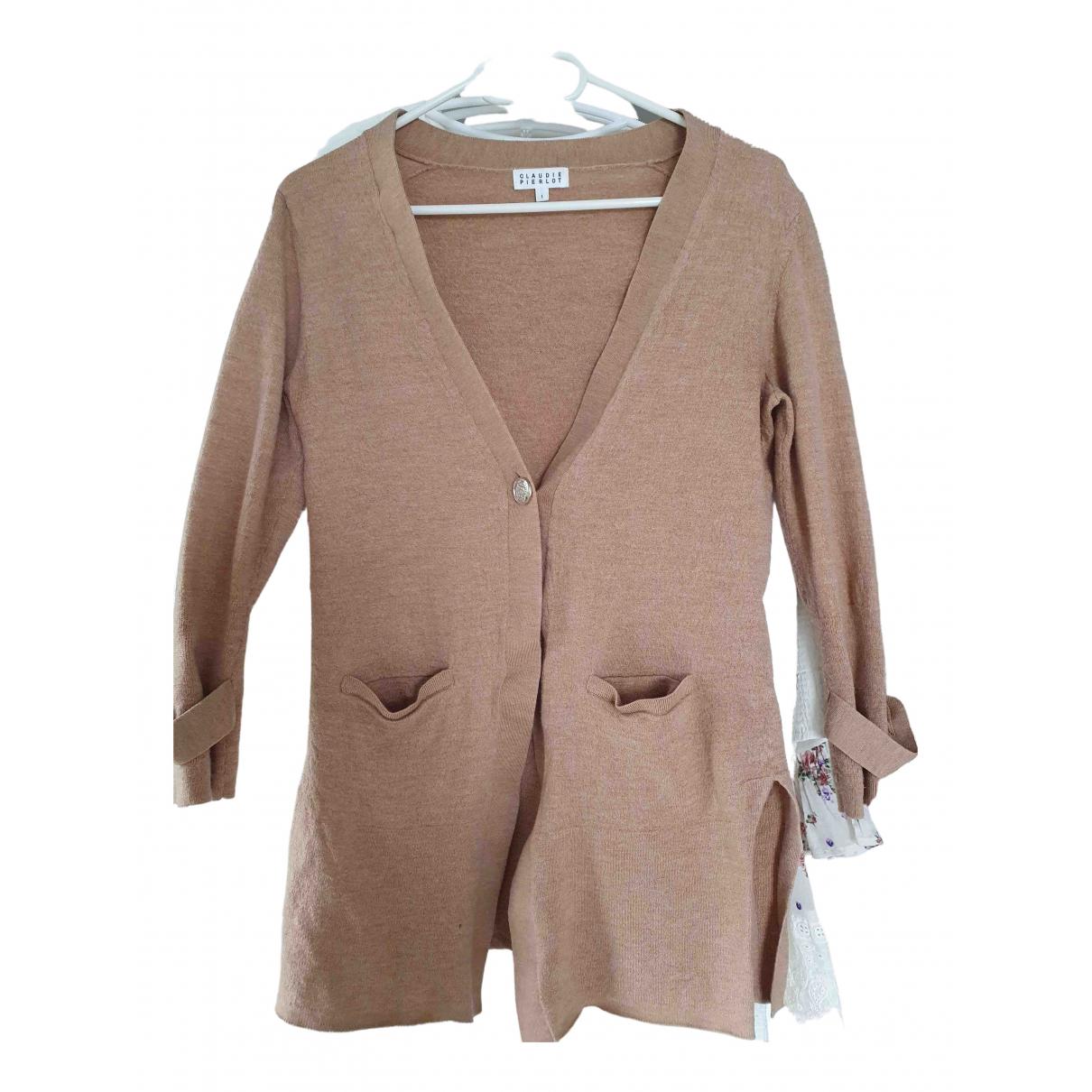 Claudie Pierlot \N Pullover in  Beige Wolle