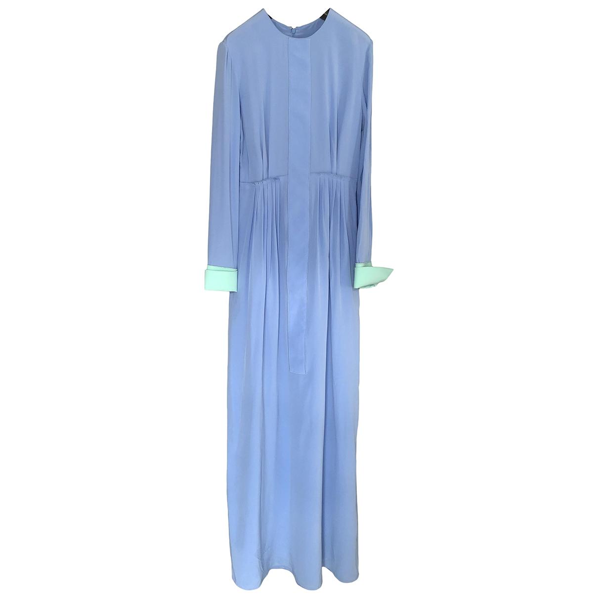 Roksanda \N Blue Silk dress for Women 10 UK