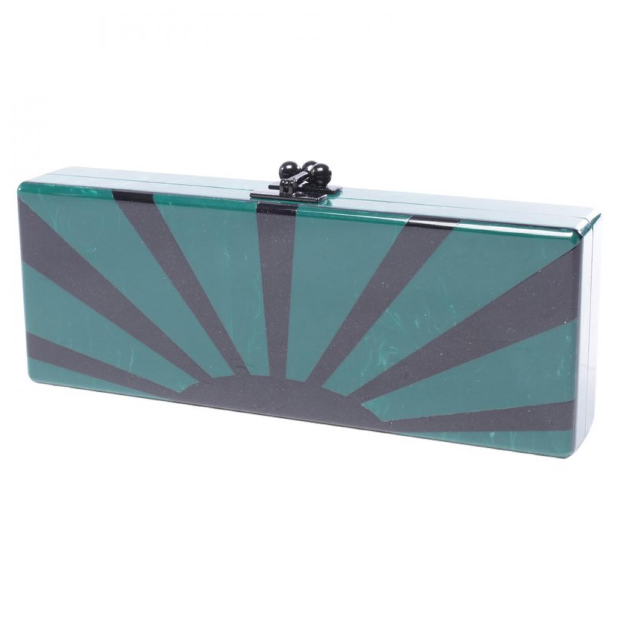 Edie Parker \N Green Clutch bag for Women \N