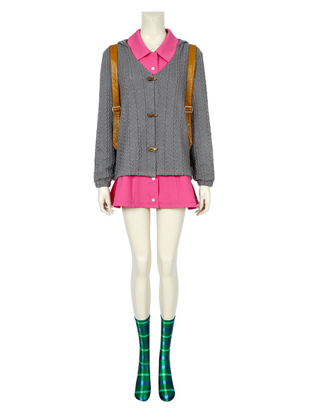 Milanoo Pokemon Sword And Shield Marnie Cosplay Costume