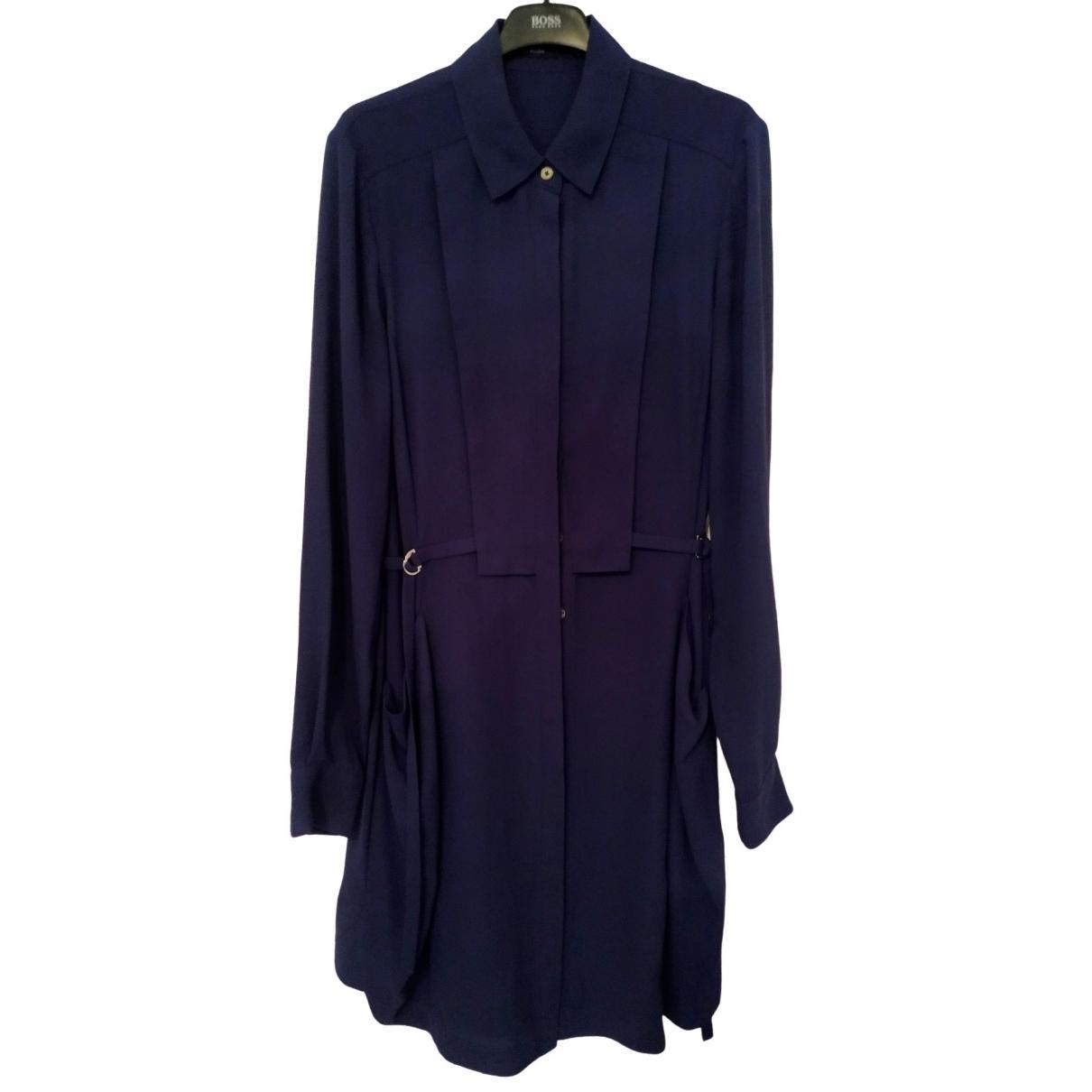Karen Millen - Robe   pour femme - bleu