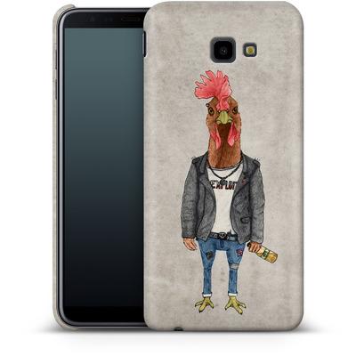 Samsung Galaxy J4 Plus Smartphone Huelle - Punk Rooster von Barruf