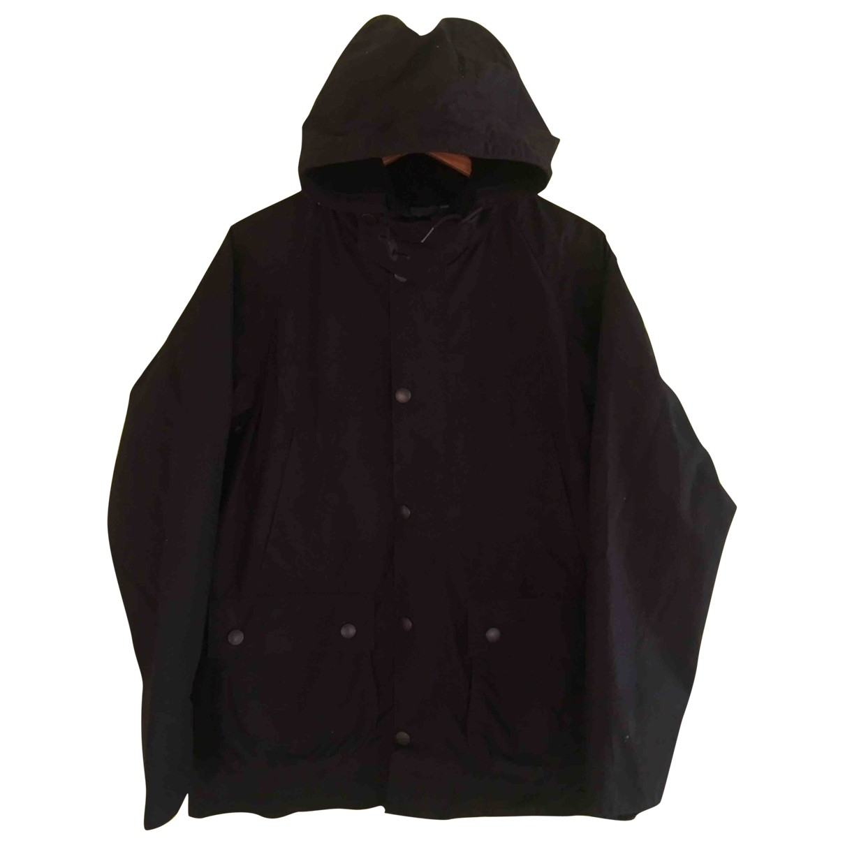 Barbour \N Black Cotton coat  for Men S International