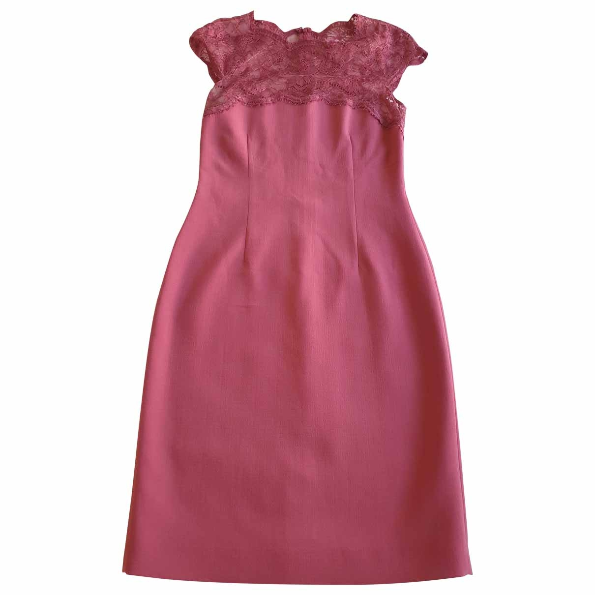 Emilio Pucci \N Pink Wool dress for Women 42 IT